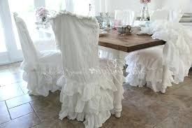 dining room chair slipcovers shabby chic dining room marvelous ideas slip for dining room chairs majestic