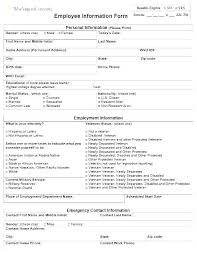 Babysitter Information Emergency Contact Information Sheet Template