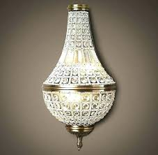 wall sconces with crystals crystal chandelier battery operated fantastic c