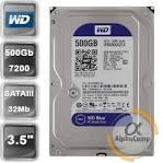 HDD 500Gb 7200 SATA б\в