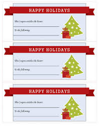 christmas free template 21 free printable christmas coupons