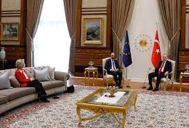 Sofa, so bad: Turkish seating snafu hits von der Leyen, Michel – POLITICO