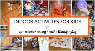 indoor activities for kids. Beautiful For In Indoor Activities For Kids V