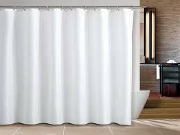 waverly white fabric shower curtain