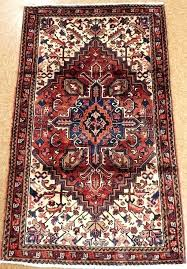persian style wool area rugs red and blue rug 3 x 5 tribal hand knotted oriental