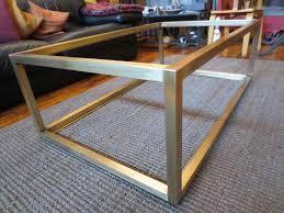 custom metal modern coffee table base by andrew stan design custommade com
