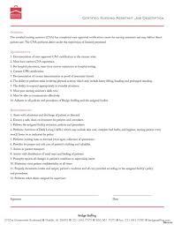 Cna Job Duties Resume Resume Hospital Cna Laurelmacy Worksheets For Elementary Objective 19
