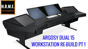 argosy workstation desk home studio workstation rebuild part 1