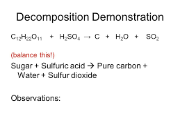 balanced equation for decomposition of water by electrolysis