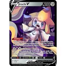 Jirachi V (Whimsical) Custom Pokemon Card – ZabaTV
