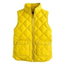 J Crew Coat Size Chart J Crew Excursion Quilted Down Vest Bright Ivory Color