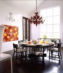 how to choose dining room chandelier size small dining room design with round black dining