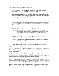 what is the thesis statement in the essay how important is a  example of a thesis statement for an essay example of thesis examples of a thesis statement