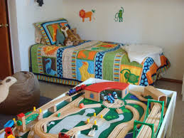 Stunning Train Themed Bedroom For Toddler Contemporary - Home ...