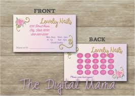 Nail Business Card Best Of Salon Business Cards Free Enchanting Nail