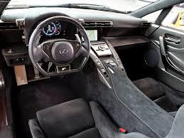 lexus lfa black interior. lexus lfa black interior e