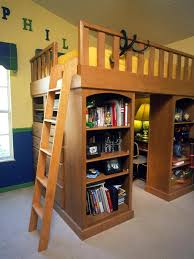 Loft Bed With Built-In Desk