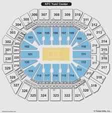 Yum Center Louisville Kentucky Seating Chart 2019