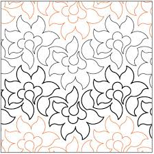 Fresh Flowers quilting pantograph pattern by Lorien Quilting & Fresh-Flowers-quilting-pantograph-pattern-Lorien-Quilting.jpg ... Adamdwight.com