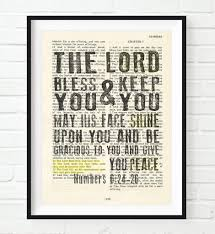 the lord bless you numbers 6 24 26 bible page art print on numbers 6 24 26 wall art with the lord bless you numbers 6 24 26 bible page art print parody art