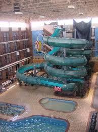 indoor pool with waterslide. Medicine Hat Lodge Resort, Casino \u0026 Spa: Indoor Pool And Waterslides With Waterslide