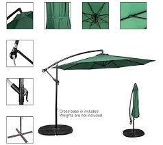 patio umbrella weights 7 outdoor feet aluminum offset canada best umbrellas