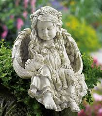 angel garden. Barefoot Angel Garden Statue Ideas
