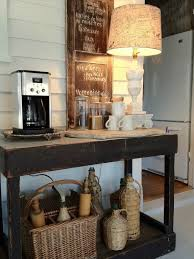 coffee station furniture. contemporary station rustic table and accessories used for a coffee station  decoist in coffee station furniture t