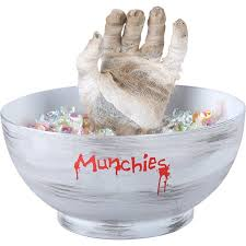 halloween candy bowl hand. Simple Candy Gemmy Animated Mummy Hand Candy Bowl Halloween Decoration In N