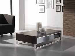 image of modern coffee table stainless frames