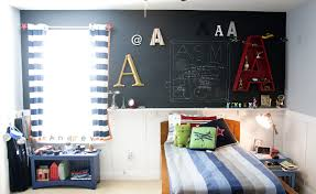 charming kid boys room paint ideas for small spaces furnished with single bed and nightstand completed with spot night lighting charming kid bedroom design