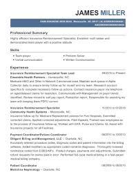 Best Insurance Reimbursement Specialist Resumes | Resumehelp