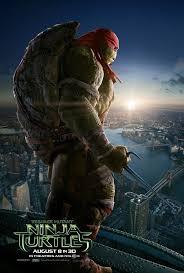 ninja turtles 2014 poster. Plain Turtles Raphael  TEENAGE MUTANT NINJA TURTLES Cool New Trailer And 4 Posters U2014  GeekTyrant On Ninja Turtles 2014 Poster E