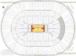 Oklahoma City Thunder Arena Seating Chart Chesapeake Energy Arena Basketball Plan For Oklahoma City