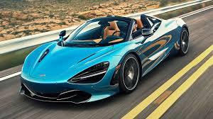 Light Blue Mclaren 2020 Mclaren 720s Spider First Drive Uncompromising