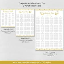 Seating Chart Template Wedding Seating Chart Template Table Seating Chart Printable