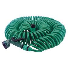 coil garden hose. 41% Off On Garden 15M Meter Coil Hose With Spray Nozzle   OneDayOnly.co.za