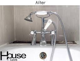 bathroom faucets after photo
