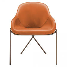 image result for tan leather dining chairs uk