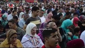 بوابة فيتو   اختلاط الرجال بالنساء في صلاة عيد الفطر بساحة مصطفى محمود -  YouTube