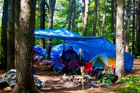 camping in the woods. File:Camping Tents In The Woods.jpg Camping Woods