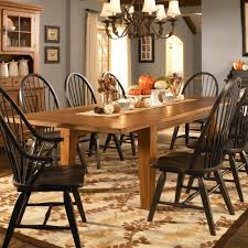 Leg Dining Table With Leaves By Broyhill Furniture Wolf And Broyhill Dining Room Sets For Sale