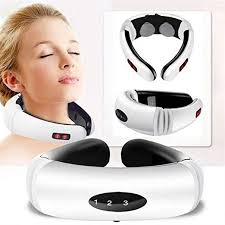 Electric Pulse Back and Neck Massager Far Infrared ... - Amazon.com