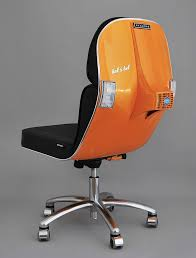 recycled vespa office chairs. Office Chair-orange Recycling Ideas Vespa Old Scooter Furniture Recycled Chairs Pinterest