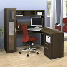 home office workstation workstation computer cool elegant home office appealing dark corner desk polished walnut simple amusing home computer