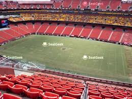 fedex field seating chart seatgeek