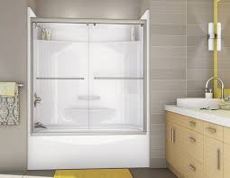 deep tub shower combo bathtub kit best one piece units oval and