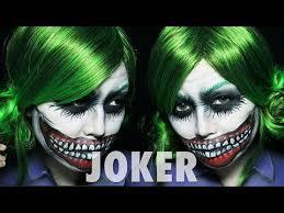 joker makeup tutorial female version for women s joker costume