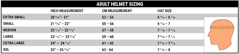 Pyrotect Helmet Size Chart Impact Air Draft Os20 Helmet With Wired Helmet Kit