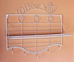 hat rack coffee 091369 wall mounted hat